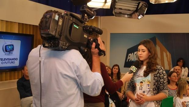 Televisando o Futuro 2012 (Foto: RPC TV)