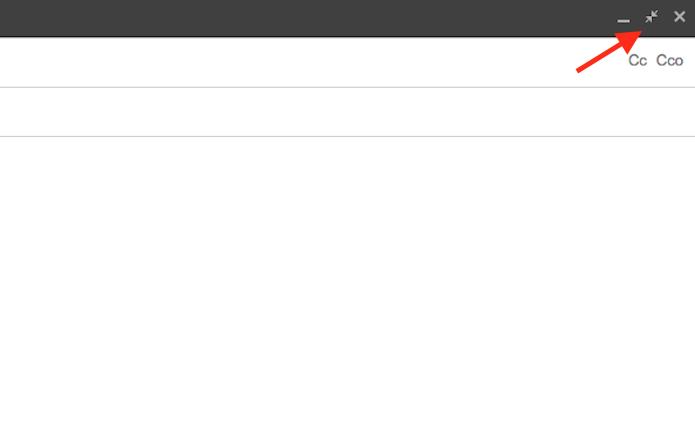 Botão para abrir um rascunho normal de e-mail no Gmail (Foto: Reprodução/Marvin Costa)