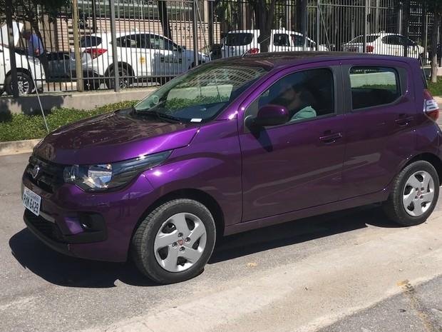 Fiat Mobi (Foto: André Paixão / G1)