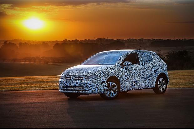 Já andamos na versão pré-série do novo Volkswagen Polo (Foto: Divulgação)
