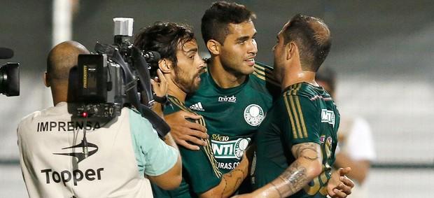 Alan Kardec comemoração jogo Palmeiras e Bragantino Paulistão (Foto: Mauro Horita / Globoesporte.com)
