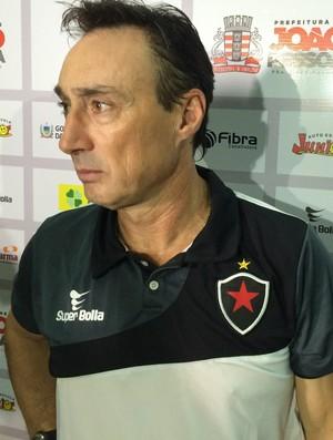 Roberto Fonseca, Botafogo-PB (Foto: Lucas Barros / GloboEsporte.com)
