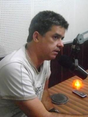 Marco César, presidente do Esporte de Patos (Foto: Divulgação / Esporte de Patos)