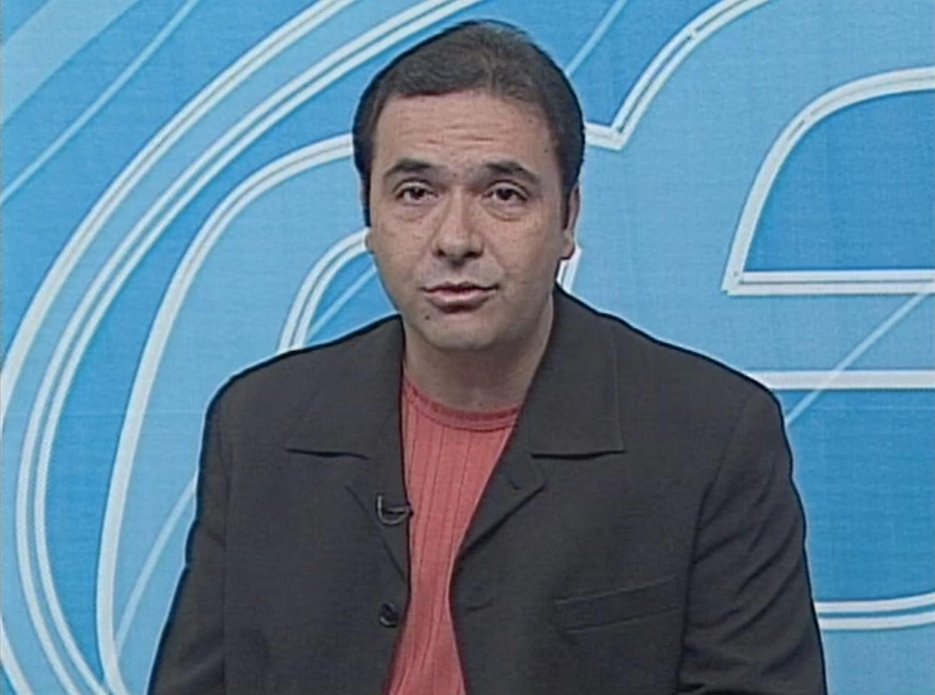 Jorge Buery no primeiro Estação Esporte (Foto: Divulgação/ TV Gazeta)