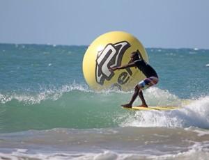 Reginaldo Nascimento; campeão longboard; Nordestino de Surfe (Foto: Divulgação/Pena Surf Nordeste)