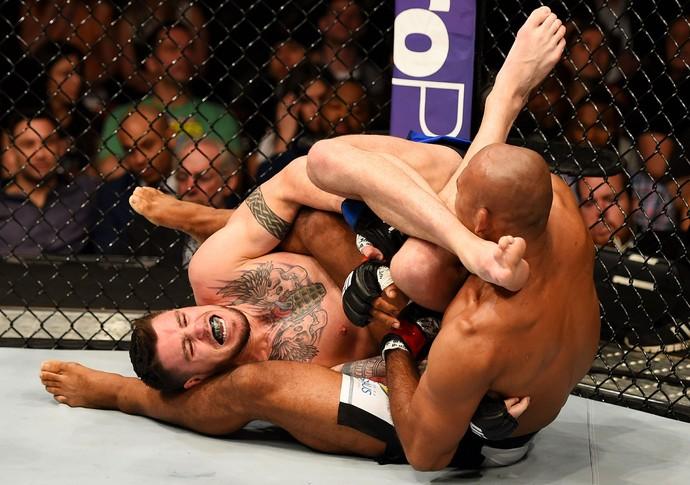 Ronaldo Jacaré Chris Camozzi UFC MMA (Foto: Getty Images)