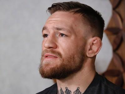 Conor McGregor coletiva Califórnia UFC (Foto: Evelyn Rodrigues)