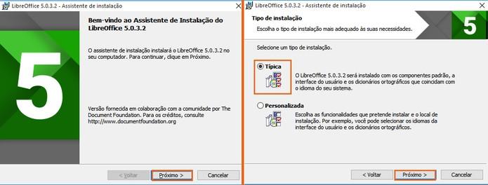 Inicie a instalação do LibreOffice no PC (Foto: Reprodução/Barbara Mannara)