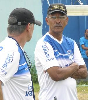 Antônio Lucas, técnico do São Mateus (Foto: Rian Matos/AA São Mateus)