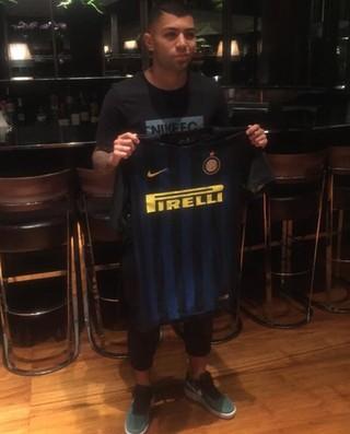 Gabigol Internazionale Inter de Milão (Foto: Reprodução/Twitter)