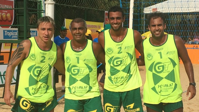 Romário em Trindade, Goiás (Foto: Paula Resende/ GE)