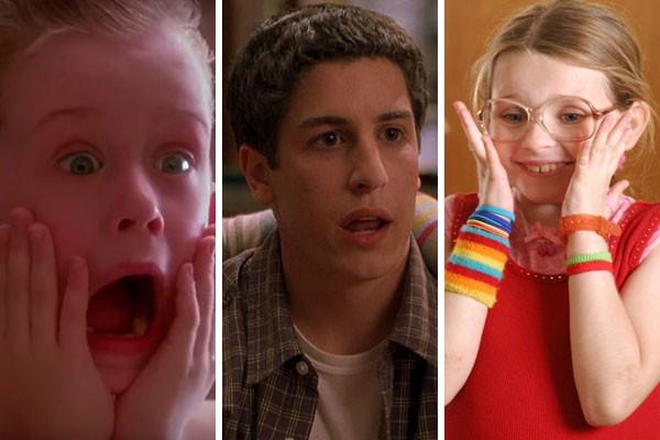 Esqueceram de Mim (1990), American Pie 2 – A Segunda Vez É Ainda Melhor (2001) e Pequena Miss Sunshine (2006) (Foto: Reprodução)