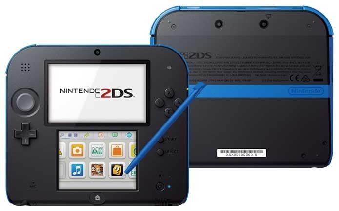 Nintendo 2DS, sem efeito 3D (Foto: Divulgação/Nintendo)
