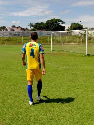 André foi o jogador que mais atuou pelo Rolim de Moura em 2014 (Foto: Fernanda Bonilha)