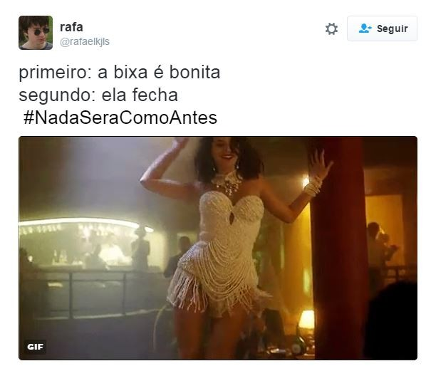 Bruna Marquezine vira assunto na web por Nada Será Como Antes (Foto: Twitter / Reprodução)