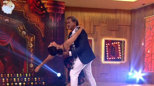 Fátima dança tango no 'Encontro' e internet vai à loucura