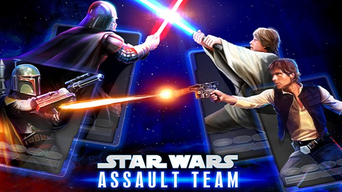 Star Wars: Assault Team é um game de combate por turnos com elementos de RPG e card game (Foto: Divulgação/;LucasArts)