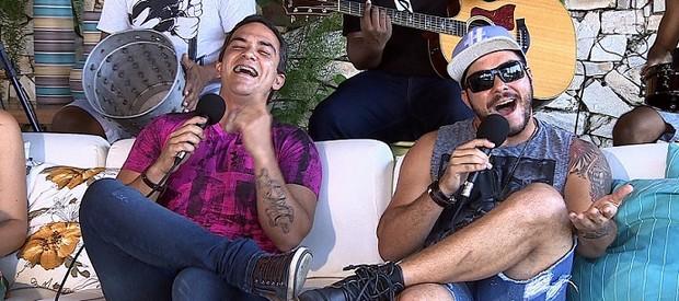 Banda Yêba no Levando um Som desta semana (Foto: TV SERGIPE)