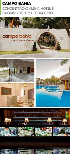 Mosaico campo Bahia (Foto: GloboEsporte.com)