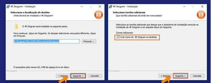 Continue a instalação do 4K Stogram no PC (Foto: Reprodução/Barbara Mannara)