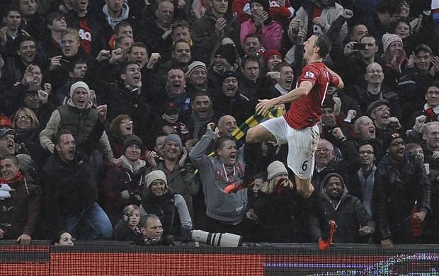 evans Newcastle x manchester united (Foto: EFE)