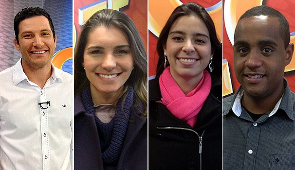 Equipe GE (Foto: Divulgação/ RPC TV)