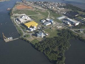 O Parque Tecnológico Rio/UFRJ, que reúne empresas de tecnologia do setor de óleo e gás (Foto: Divulgação/Parque Tecnológico Rio/UFRJ)