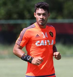 Vinícius Araújo Sport (Foto: Aldo Carneiro / Pernambuco Press)