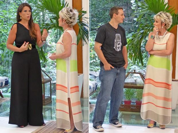Fernanda e Ricardo contam como perderam cerca de 50 kg cada um (Foto: Mais Você / TV Globo)