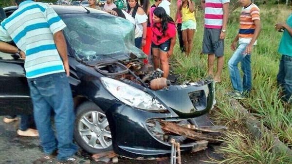 Acidente aconteceu próximo a cidade Babaçulândia. (Foto: Divulgação)