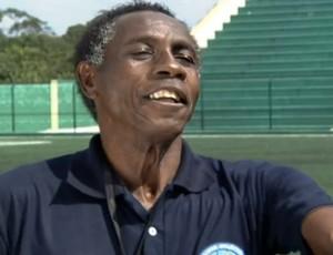 Ataliba técnico do Clube Atlético Diadema ex-jogador do Corinthians (Foto: Globo Esporte SP)