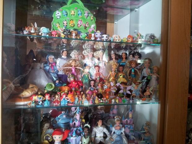 Coleção possui quase 40 anos em São Carlos (Foto: Orlando Duarte Neto/G1)