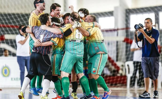 Equipe gaúcha é campeão brasileira de futebol para cegos pela 1ª vez 6b5e42af6e2e2