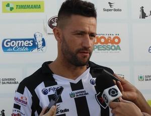 Alex Bruno, zagueiro do Botafogo-PB (Foto: Divulgação / Botafogo-PB)