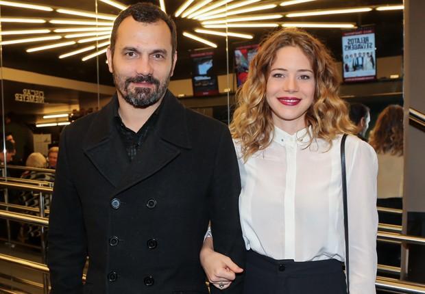 Alê Youssef e Leandra Leal (Foto: Manuela Scarpa/Brazil News)