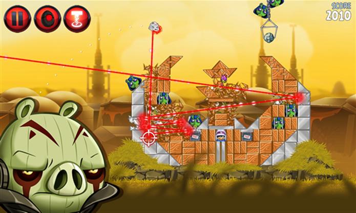 Angry Birds Star Wars II ganhou novos episódios para Windows Phone (Foto: Divulgação/Windows Phone Store)