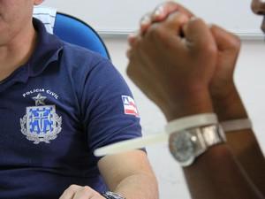 Casal foi preso em operação da polícia em Itinga (Foto: Alberto Maraux/ SSP)