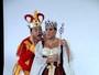 Susana Vieira e David Brazil gravam como Rainha e Bobo da Corte