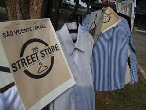 Camisas sociais estavam entre as peças disponíveis (Foto: Jane Pangardi / Arquivo Pessoal)