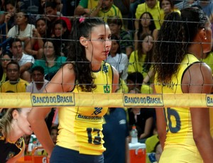 Brasil x Holanda Desafio Internancional AL Sheilla (Foto: Viviane Leão/GLOBOESPORTE.COM)