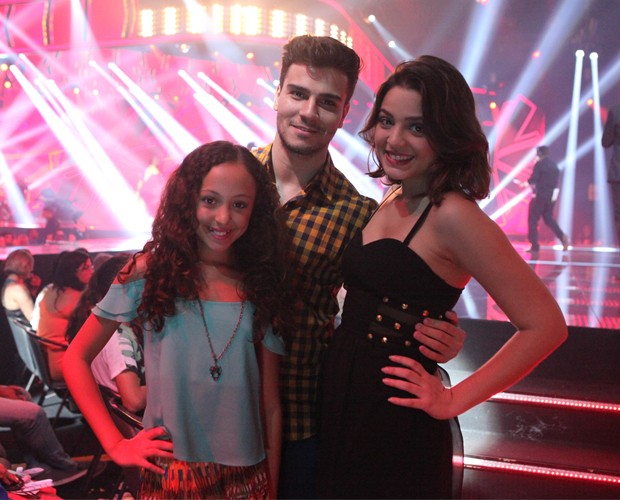 Respectivamente: Bianca Vedovato, Rafa Vachaude e Maria luiza Campos (Foto: Isabella Pinheiro / Gshow)