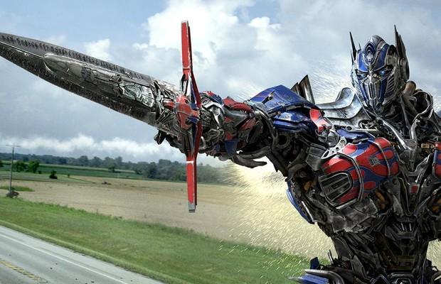 Espada de Optimus Prime (Foto: Divulgação)