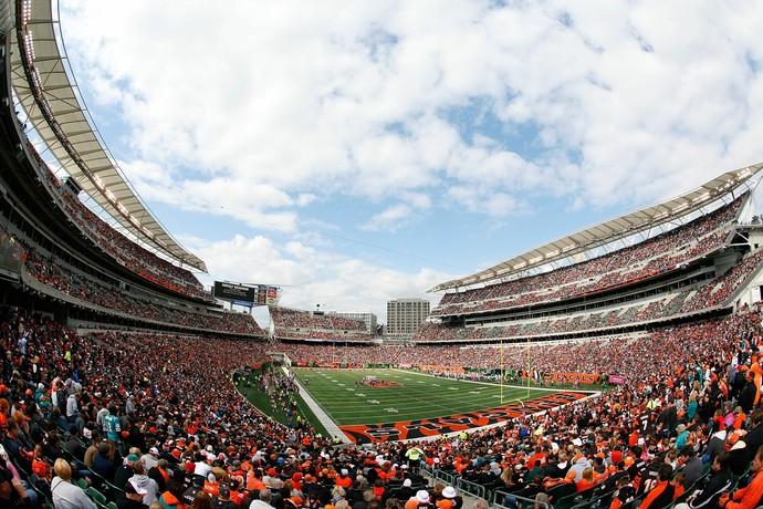 Paul Brown Stadium - Cincinnati Bengals NFL (Foto: Tyler Barrick / Getty Images)