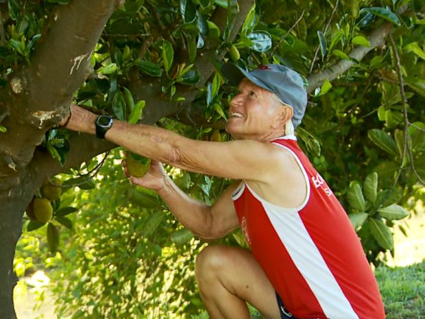 Jaca não é uma fruta tão comum em Poços de Caldas (Foto: Reprodução EPTV)