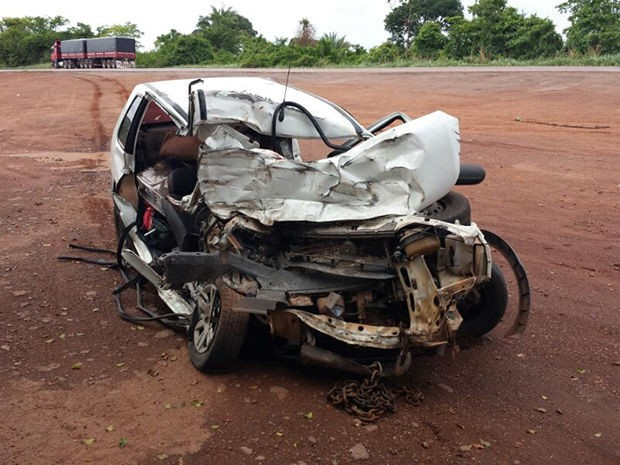acidente BR-364 (Foto: Assessoria/PRF-MT)