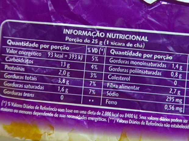 Consumidor precisa estar atento aos 23 ingredientes que podem conter gordura trans (Foto: Reprodução/EPTV)