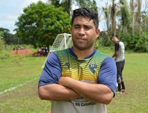 Marco Aurélio, jogador do Rondoniense (Foto: Matheus Henrique)
