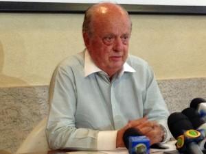 Luiz Fernando Veiga, presidente da Abrasce (Foto: Marcelo Mora/G1)