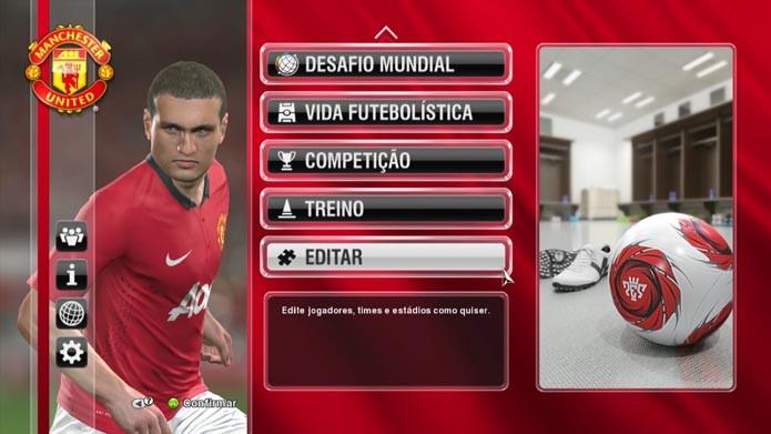 PES 2014: como transferir jogadores entre times manualmente (Foto: Reprodução/Murilo Molina)