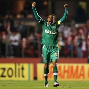 Rafael Lima Chapecoense e São Paulo (Foto: Agência Getty Images)